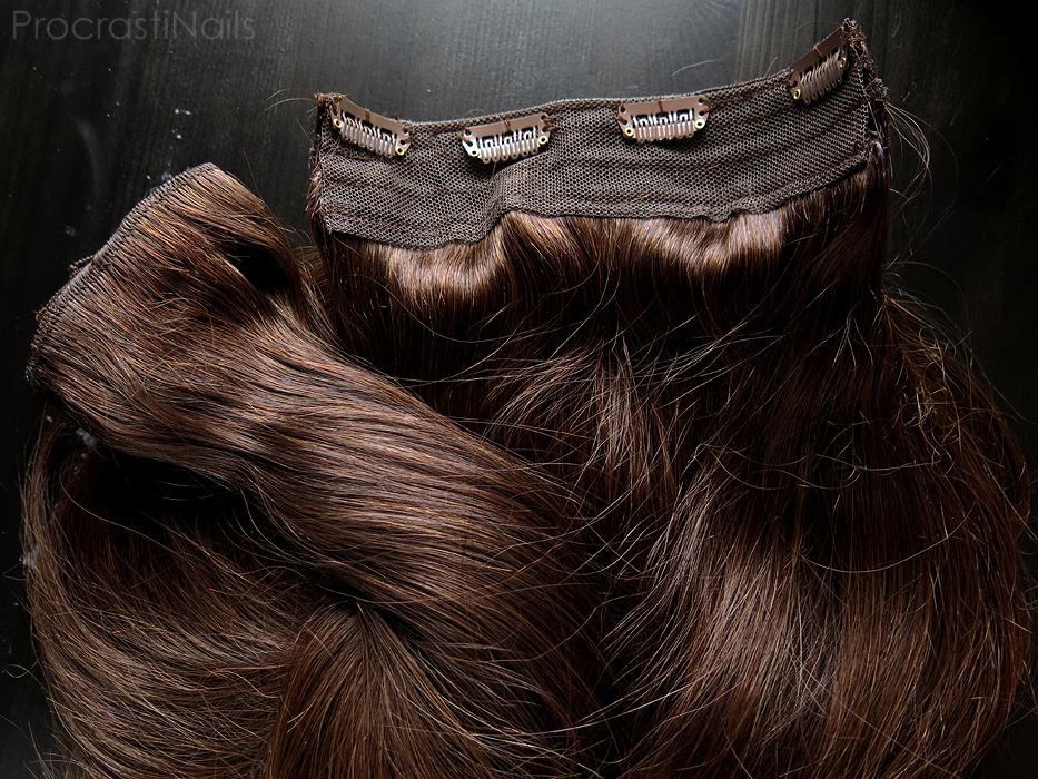 Review Irresistible Me Royal Remy Medium Brown Clip In Hair