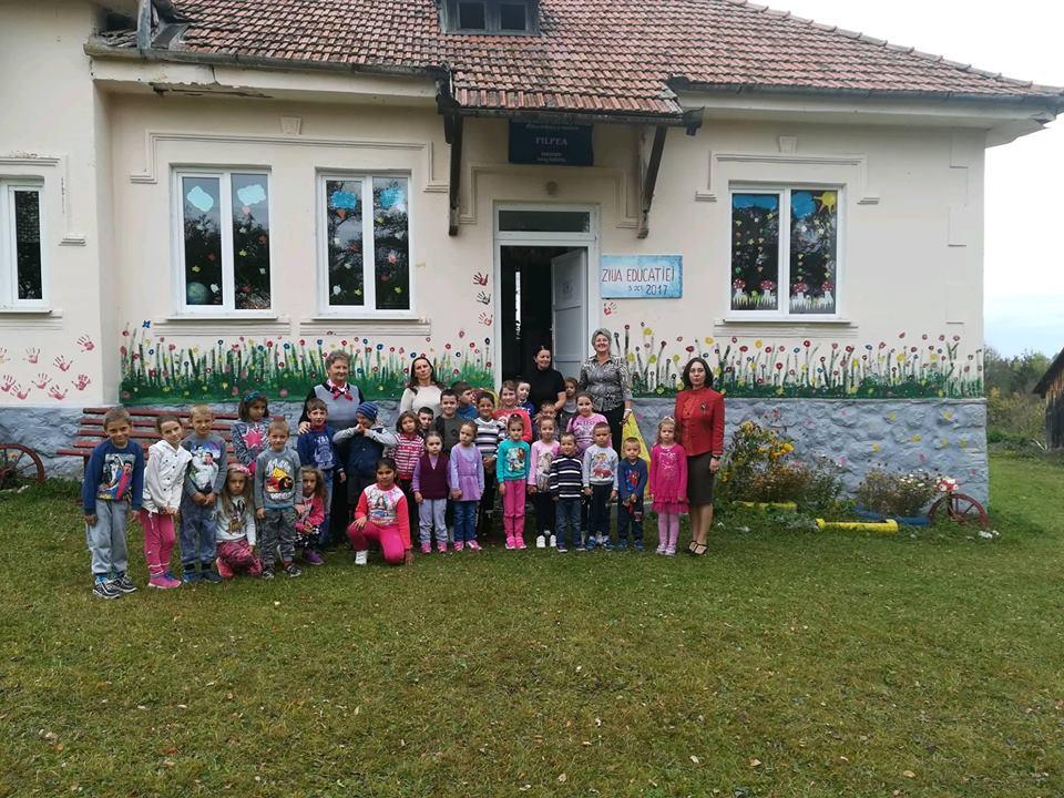 5 oct. 2017, Ziua educației, la școala din satul Filpea