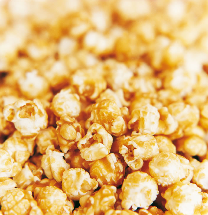 Gameday Style: Caramel Corn