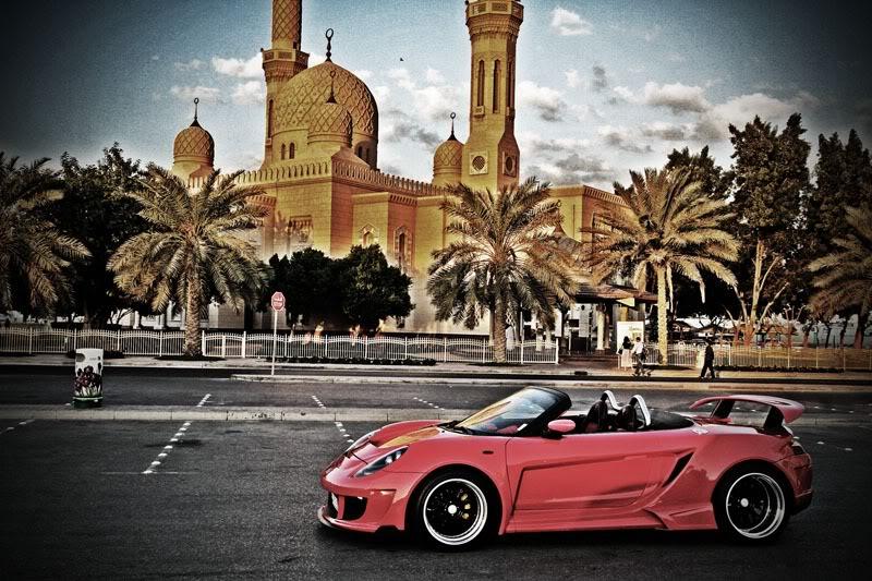 Toyota MR2, ZZW30, MR-S, tuning, modyfikacje, bodykit, zdjęcia, Luxury Part, LP