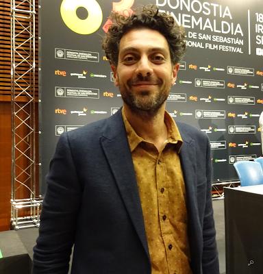 Álvaro Ogalla - Rueda de prensa de El apóstata