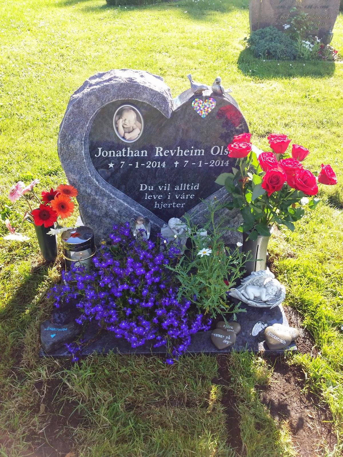 Tekst på gravstein til barn