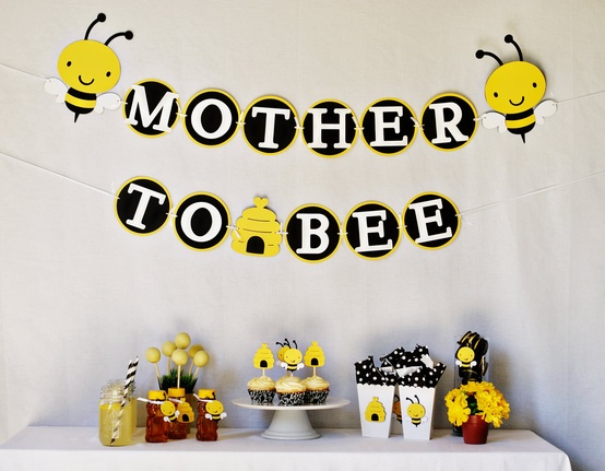 blog mom to bee baby shower ideas