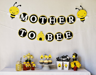 TheJungleStore.com Blog | Mom To Bee Baby Shower Ideas