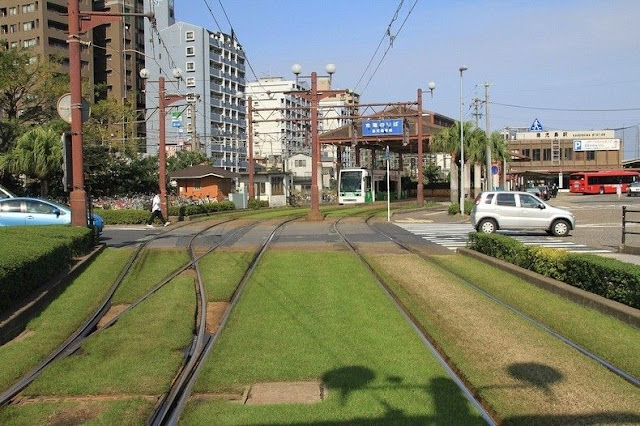 green tramways in europe