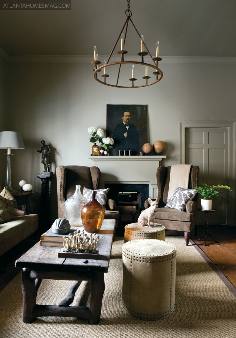 Interior Designer Jimmy Stanton Designed His Weekend Home In Madison Which Is Only An Hour Drive From Westside Atlanta