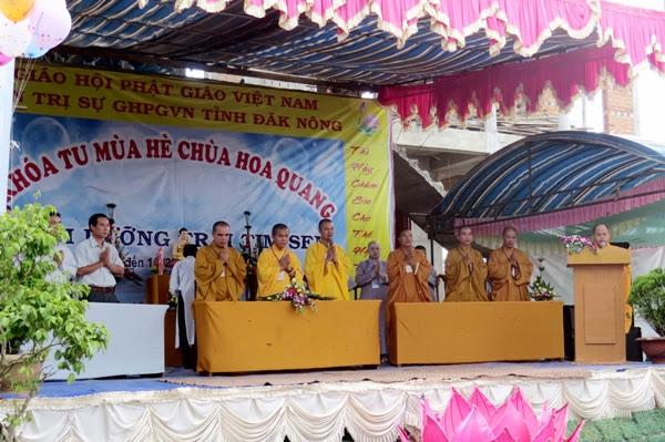 Khóa tu mùa Hè Chùa Hoa Quang Huyện ĐăkSong 05