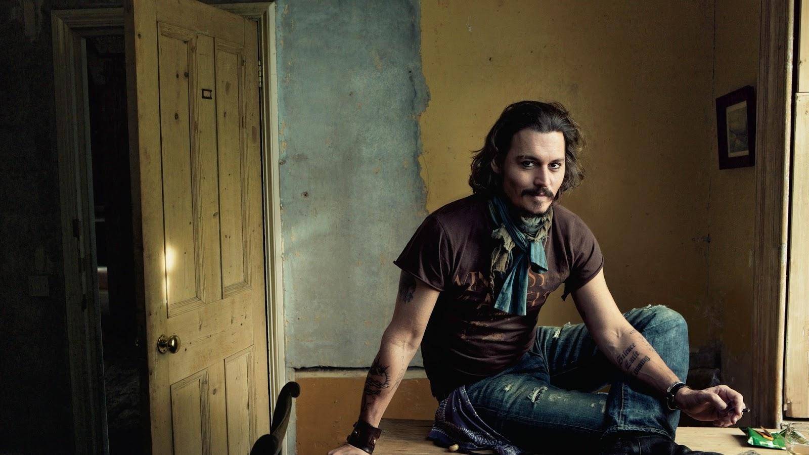 Johnny Depp Actor Wallpaper