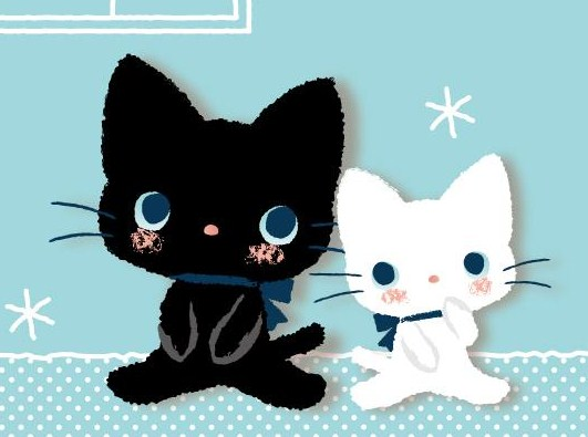 Gambar Animasi Kucing Lucu