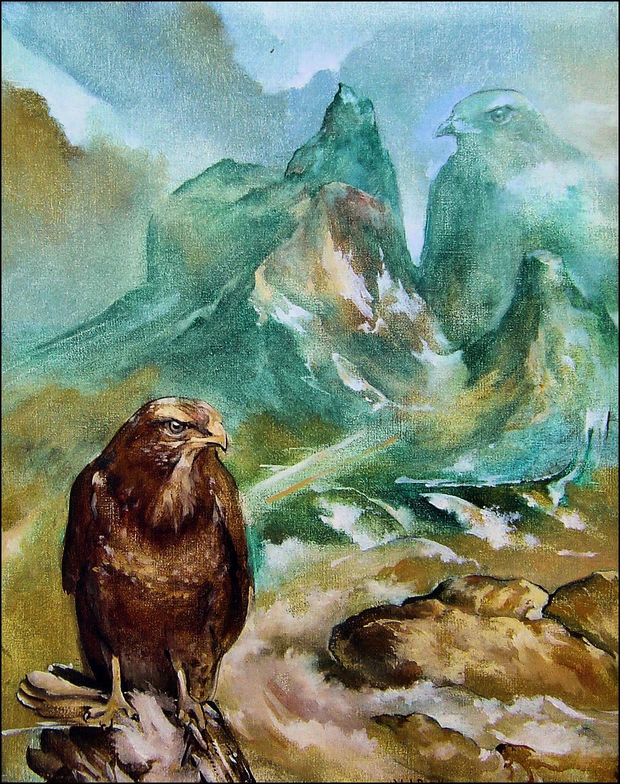 Peinture de Daniel