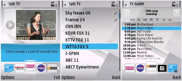 SPB Software Spb TV v2.10.1162 S^3 S60v5 S60v3 SymbianOS9.x Signed ...