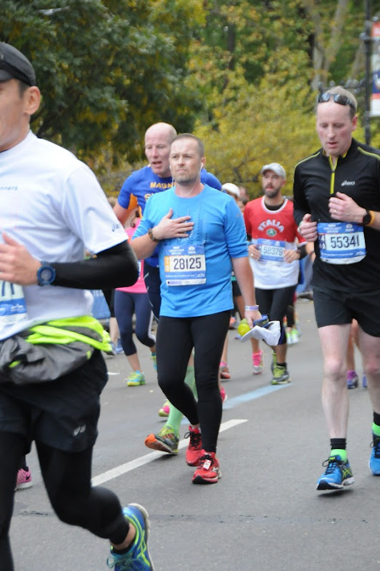 Feeling queasy 2015 New York Marathon