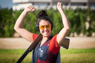 Charlotte Kerwood - Grã-Bretanha - Fossa Olímpica - Final da Copa do Mundo ISSF de Tiro ao Prato Olímpico 2013 - Foto: Divulgação/ ISSF