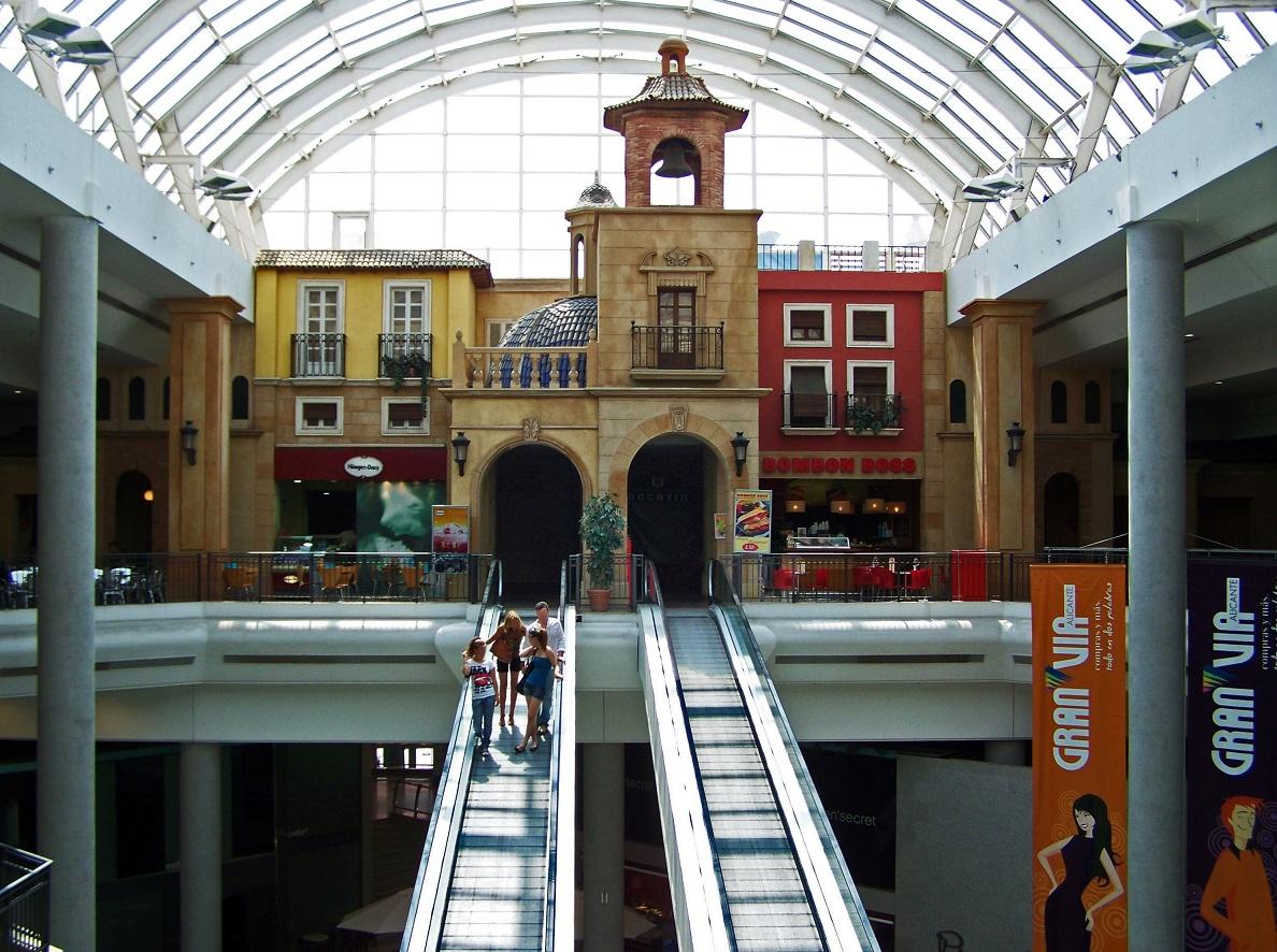 Alacant de profit el anterior centro comercial gran v a - Centro de negocios en alicante ...