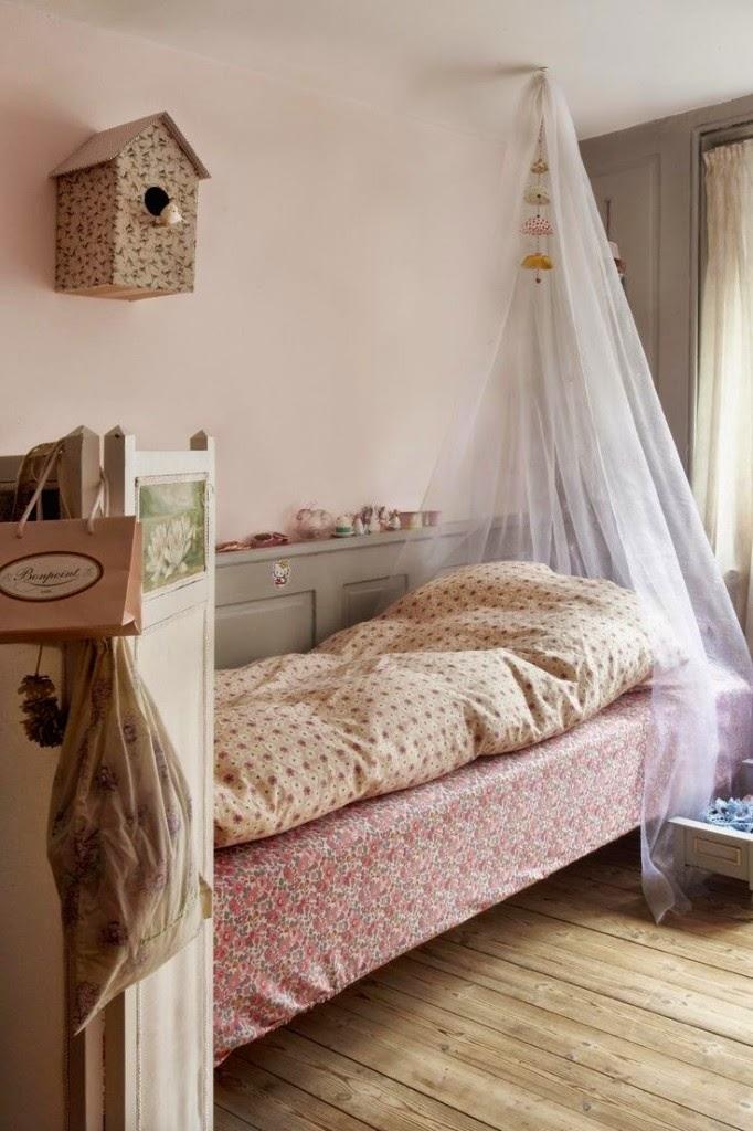 Puerta al sur habitaciones romanticas ideas para decorar - Habitaciones infantiles romanticas ...