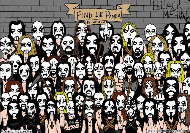 """Loạt ảnh """"Find The Panda"""" - Tìm gấu trúc"""