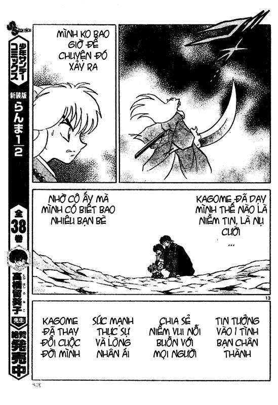 Inuyasha-Khuyển Dạ Xoa-Bản Đẹp chap 523 Trang 13