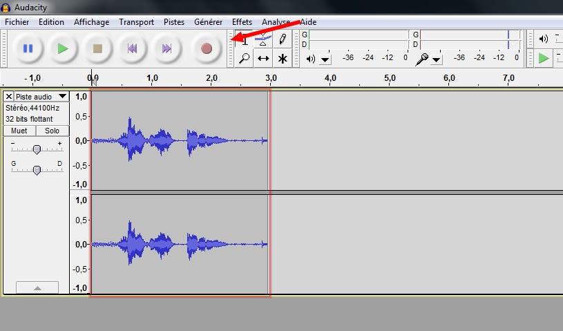 changer votre voix avec le logiciel audacity