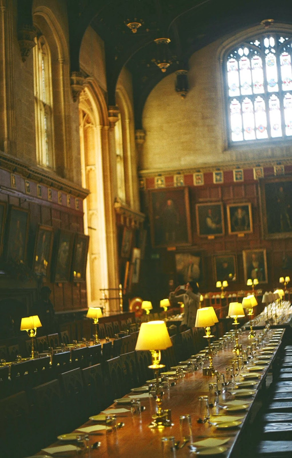 Oxford UK Harry Potter Great hall