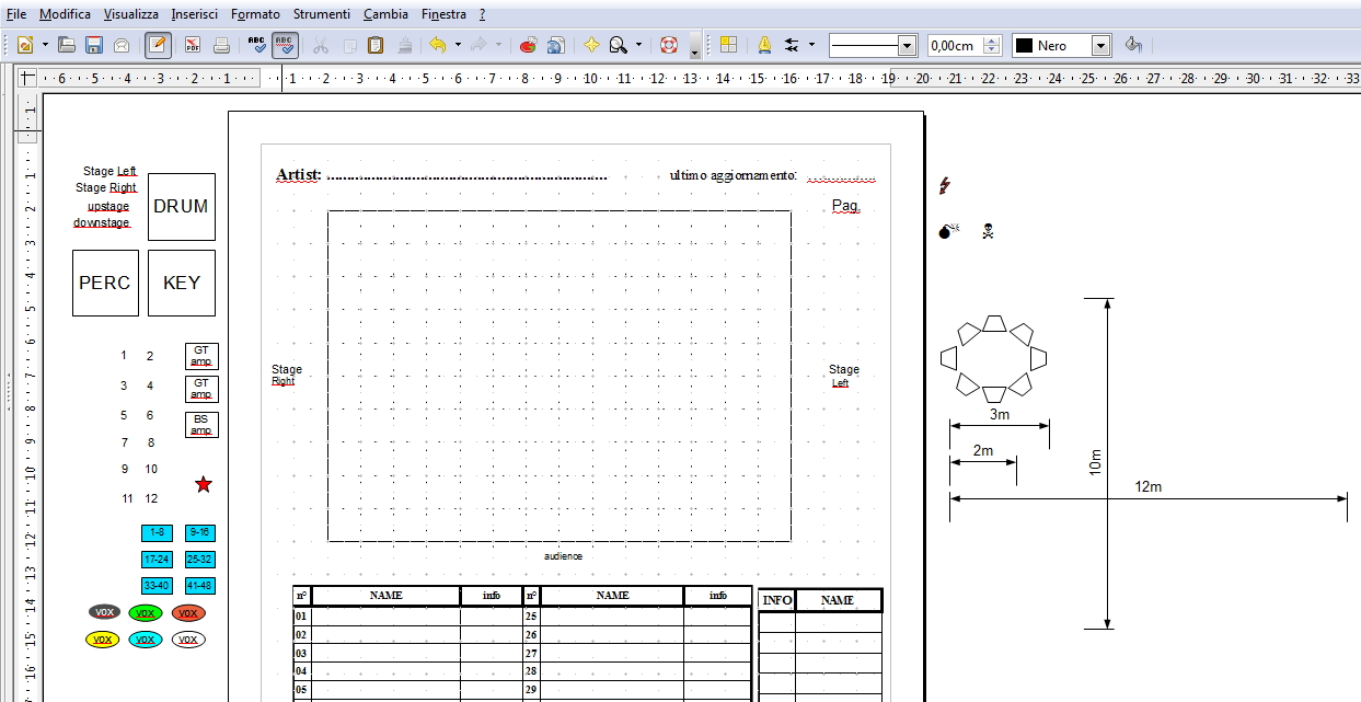Stage plot template 28 images stage plot quotes for Stage plot template