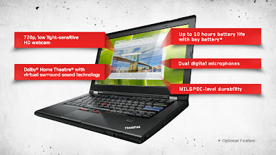 More Lenovo ThinkPad T420s pictures