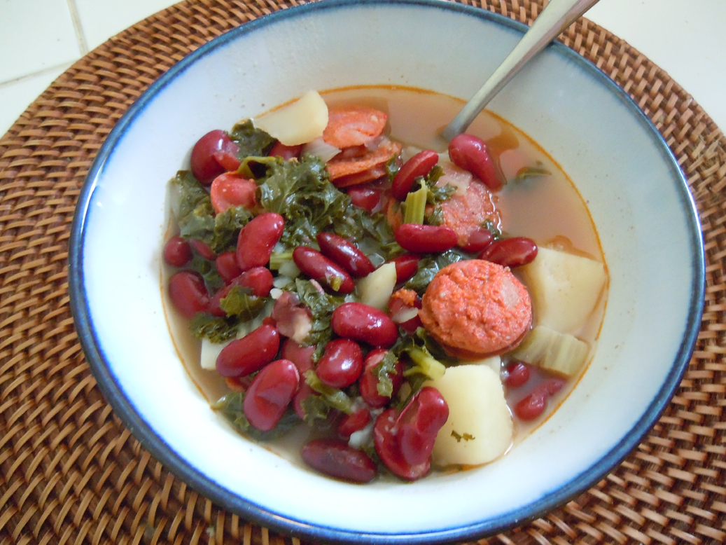 Beans Blog: Portuguese Kale Soup