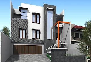 Gambar Rumah 2 Lantai TIngkat Minimalis Terbaru