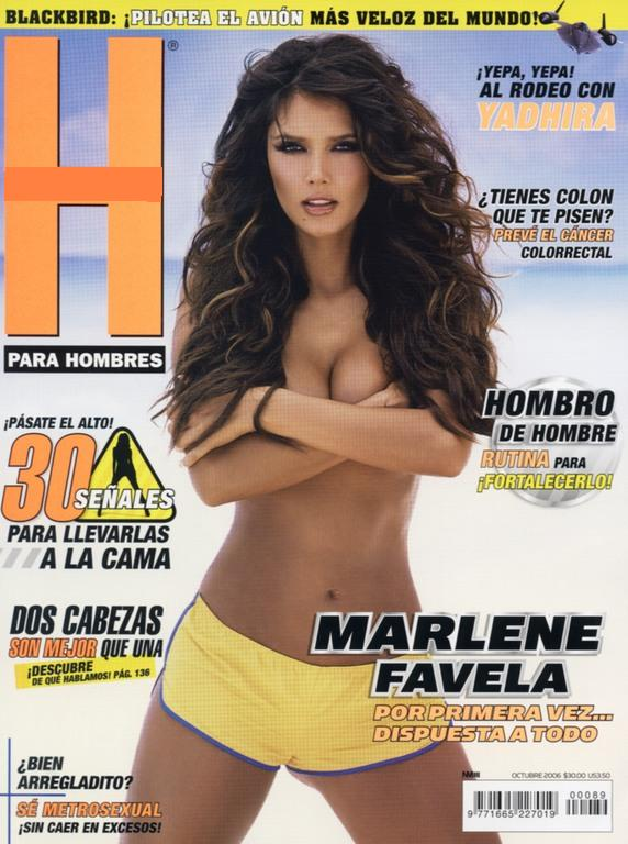 Marlene Favela en H 2006