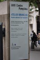 In Paris, la Centrul George Pompidou, la loc de cinste!