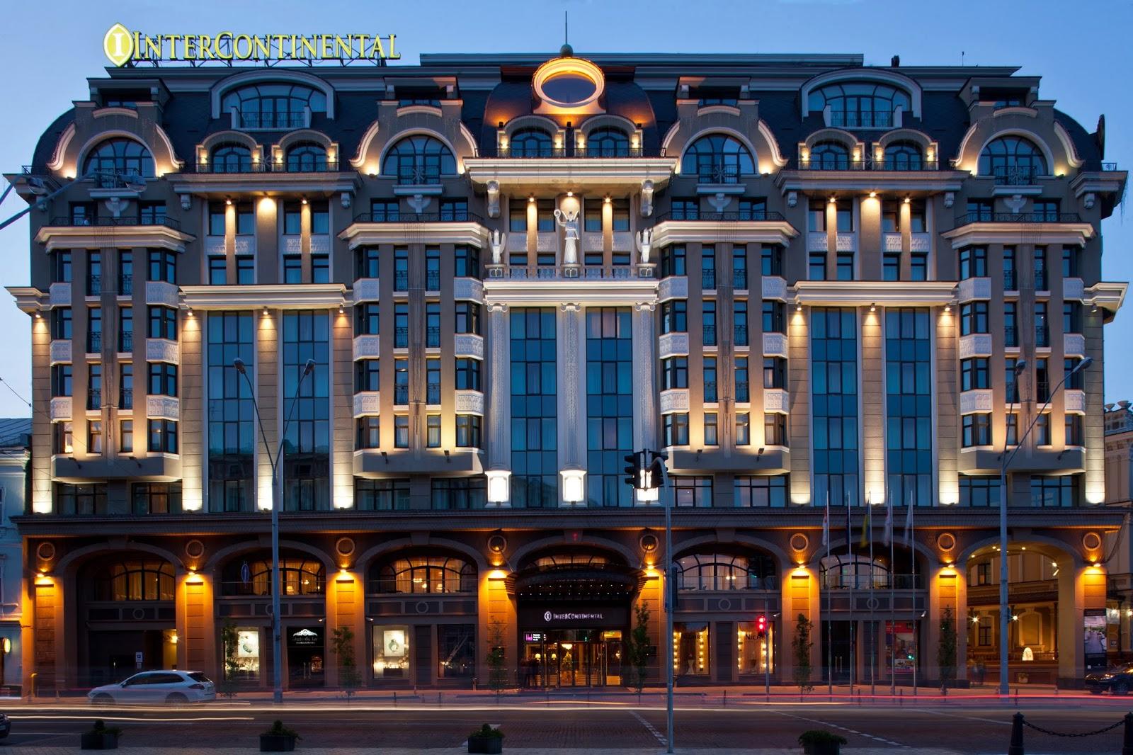 Интерконтиненталь Отель Киев 5*