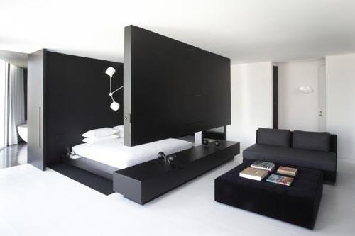 Design Classic Interior 2012: Decoración de Dormitorio en Negro con ...