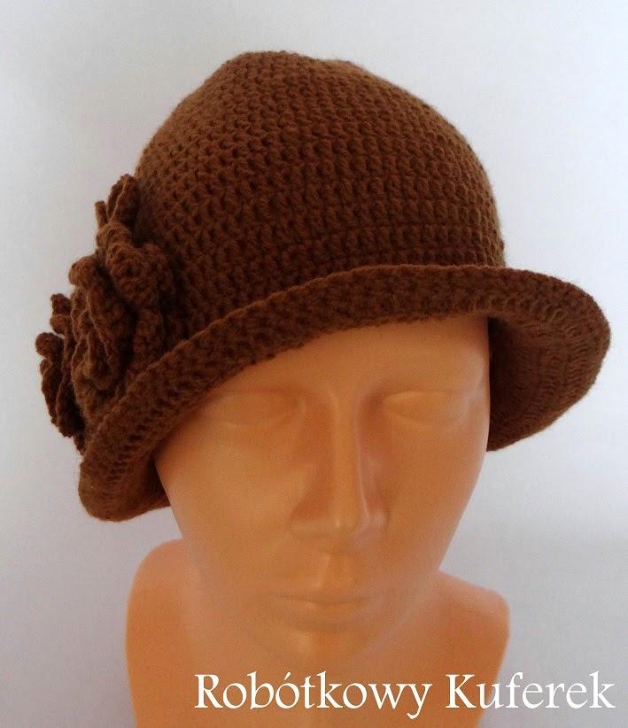 czapka szydełko