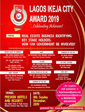 14th LAGOS-IKEJA CITY AWARD 2019