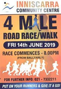 4m race NW of Cork City - Fri 14th June 2019