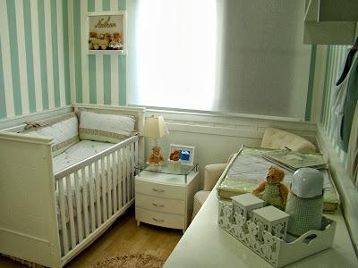 Decoração para quarto de bebé