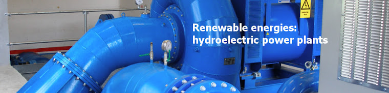 Renewable energies - hydraulic turbine
