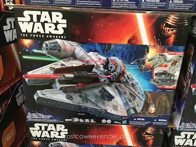 Break your own record on the Kessel Run with the Star Wars The Force Awakens Millennium Falcon