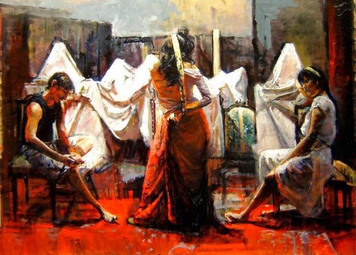 Современный аргентиский художник. Marco Ortolan