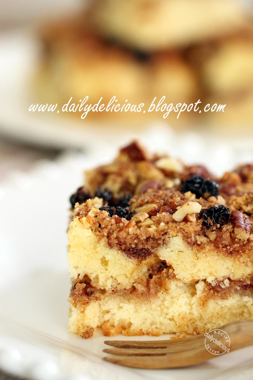 Pecan Coffee Cake Yeast Butter