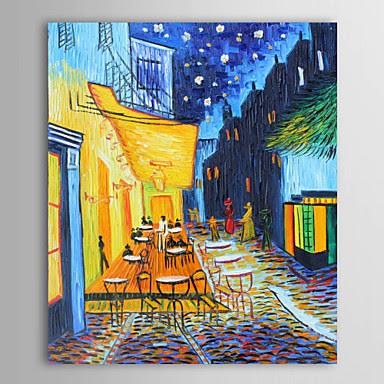 Terraza de Café por la Nochede Vincent Van Gogh