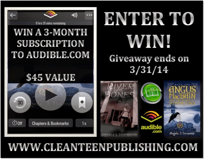Enter to win a 3-Month Audible Subscription!
