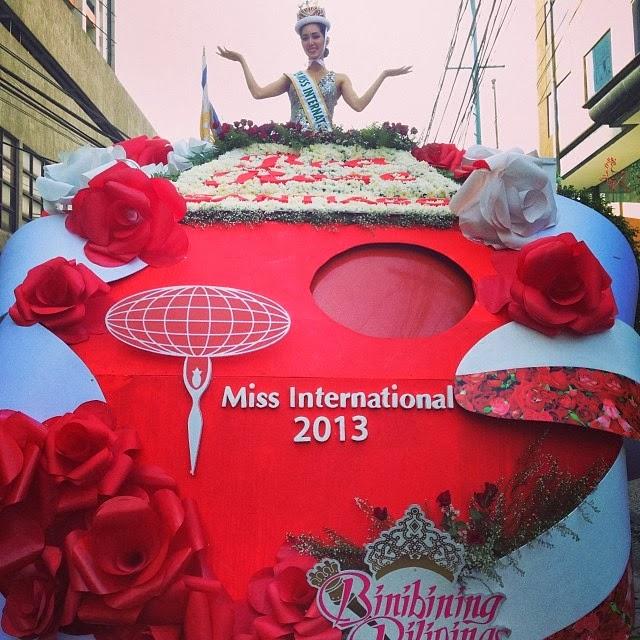 Bea Rose Santiago homecoming parade
