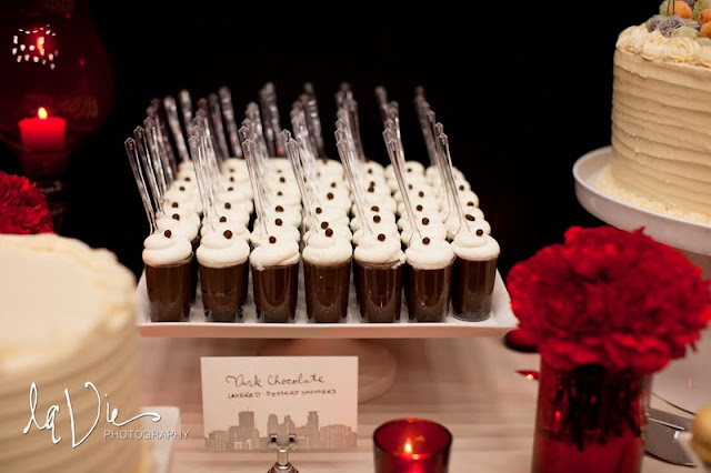 Wedding Dessert Shooters