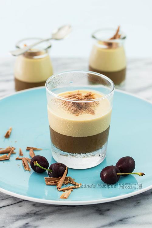 Layered Coffee Panna Cotta01
