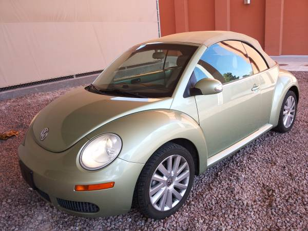 used vw beetle convertible 2008 by owner. Black Bedroom Furniture Sets. Home Design Ideas