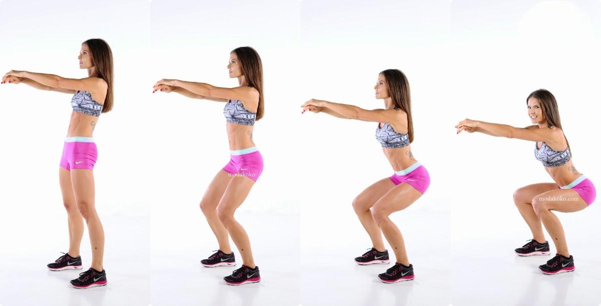 Mükemmel Bacaklar İçin Tek Egzersiz