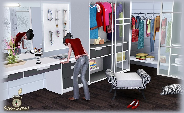 My sims 3 blog teach me passion closet by simcredible designs for Passionate bedroom designs
