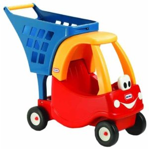 Tikes Cozy Coupe Is A Classic Favorite This Grocery Cart Merges Two Great Ideas The Perfect For 1 Year Old As It Will Help Child