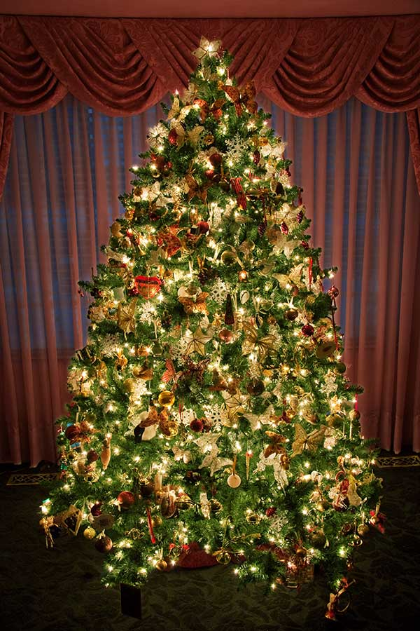 Decorated xmas trees - Curious Wallpapers: Decorated Xmas Trees