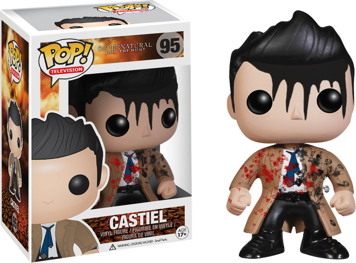 SUPERNATURAL - CASTIEL (LEVIATHAN) POP! VINYL FIGURE